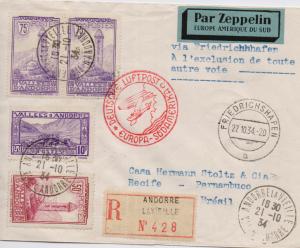 Zeppelin Brief von 1934